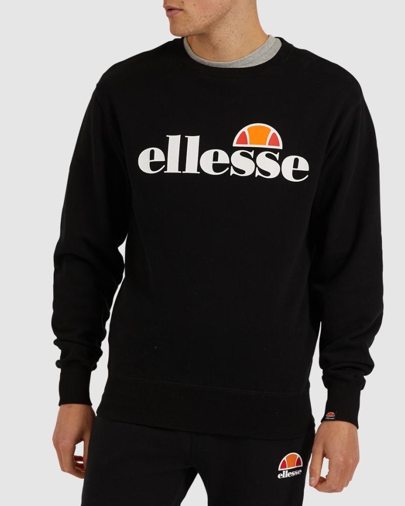 ELLESSE SUCCISO SWEATSHIRT BASIC LOGO - BLACK