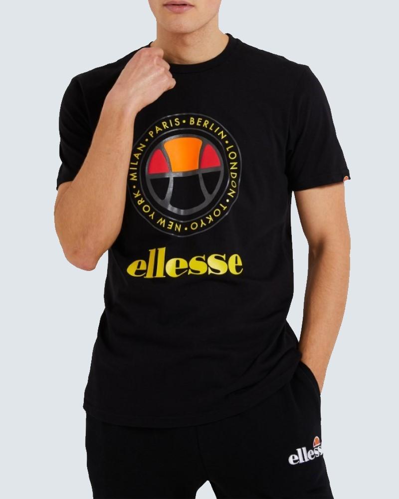 ELLESSE HERITAGE T-SHIRT - BLACK