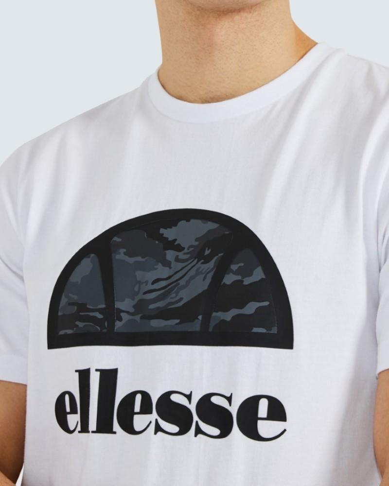 ΑΝΔΡΙΚΟ T-SHIRT ELLESSE LOGO - WHITE
