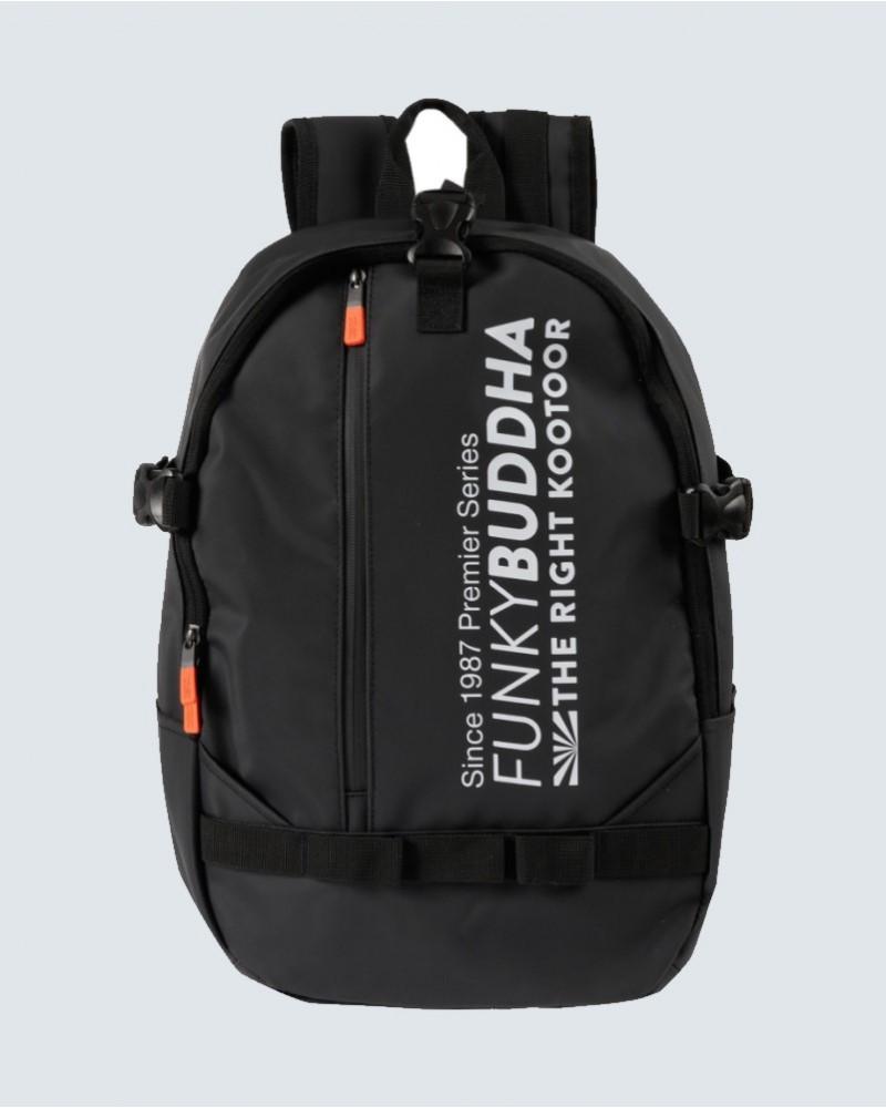 Σακίδιο πλάτης logo FunkyBuddha -BLACK