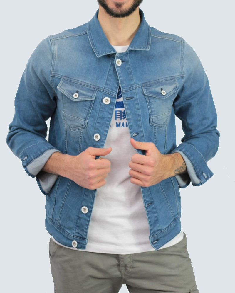 ΑΝΔΡΙΚΟ JACKET JEAN COVERDENIM - BLUE