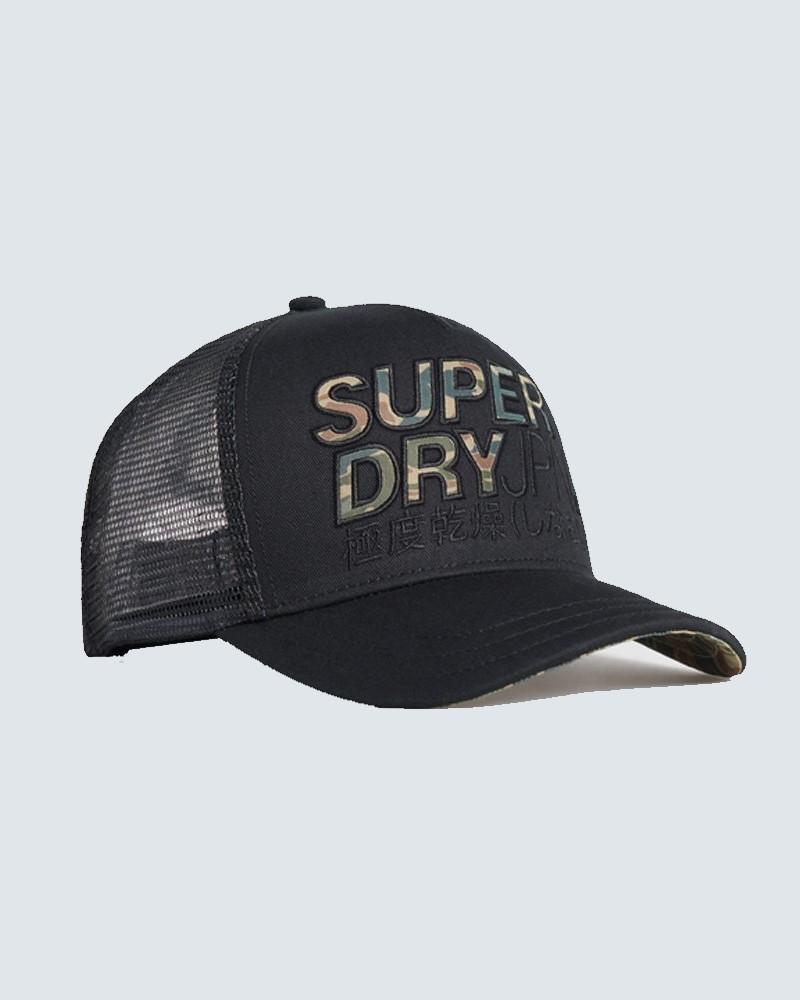 ΑΝΔΡΙΚΟ ΚΑΠΕΛΟ SUPERDRY - BLACK