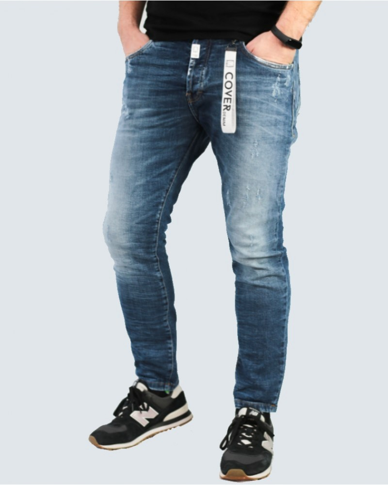 COVER DENIM ΑΝΔΡΙΚΟ JEAN SLIM FIT CARROT