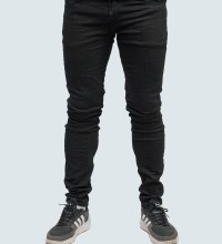 ΑΝΔΡΙΚΟ  JEAN SUPER SLIM FIT - BLACK