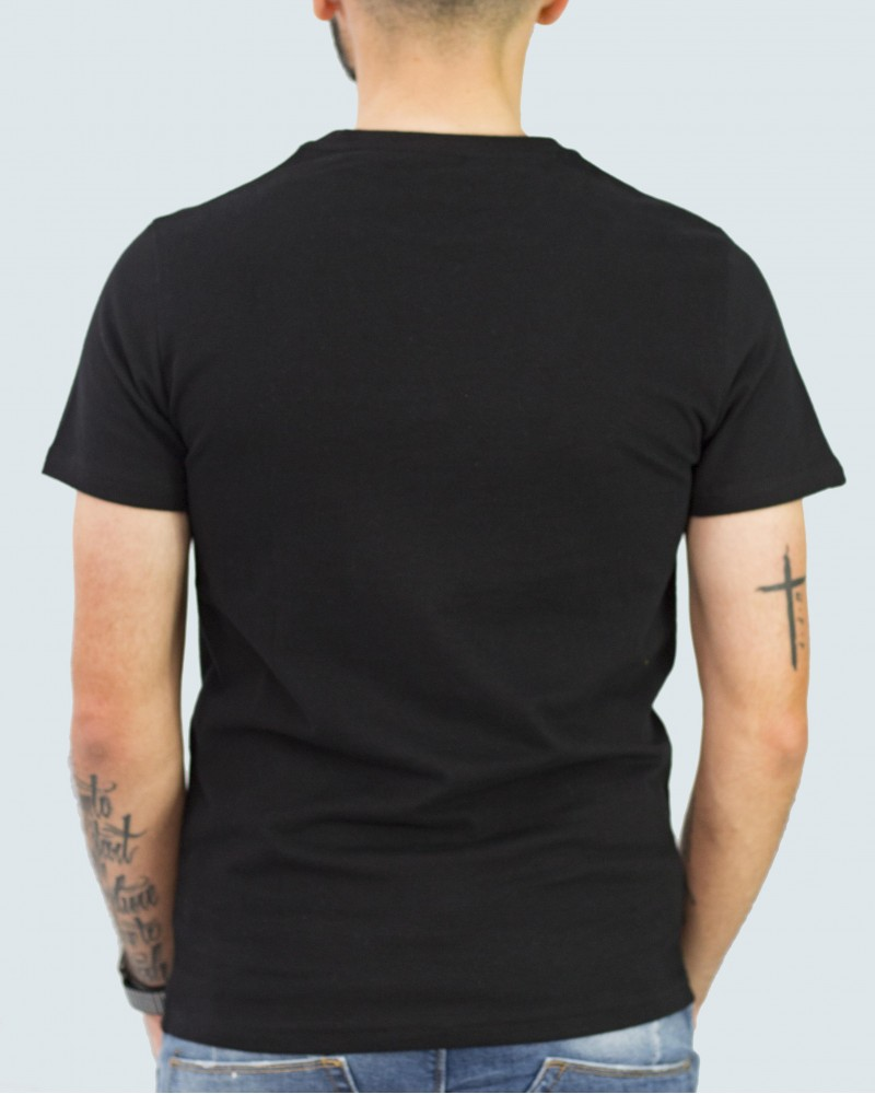 SUPERDRY T- SHIRT  VINTAGE LOGO - BLACK