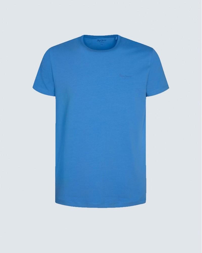 PEPE JEANS T-SHIRT BASIC - BLUE
