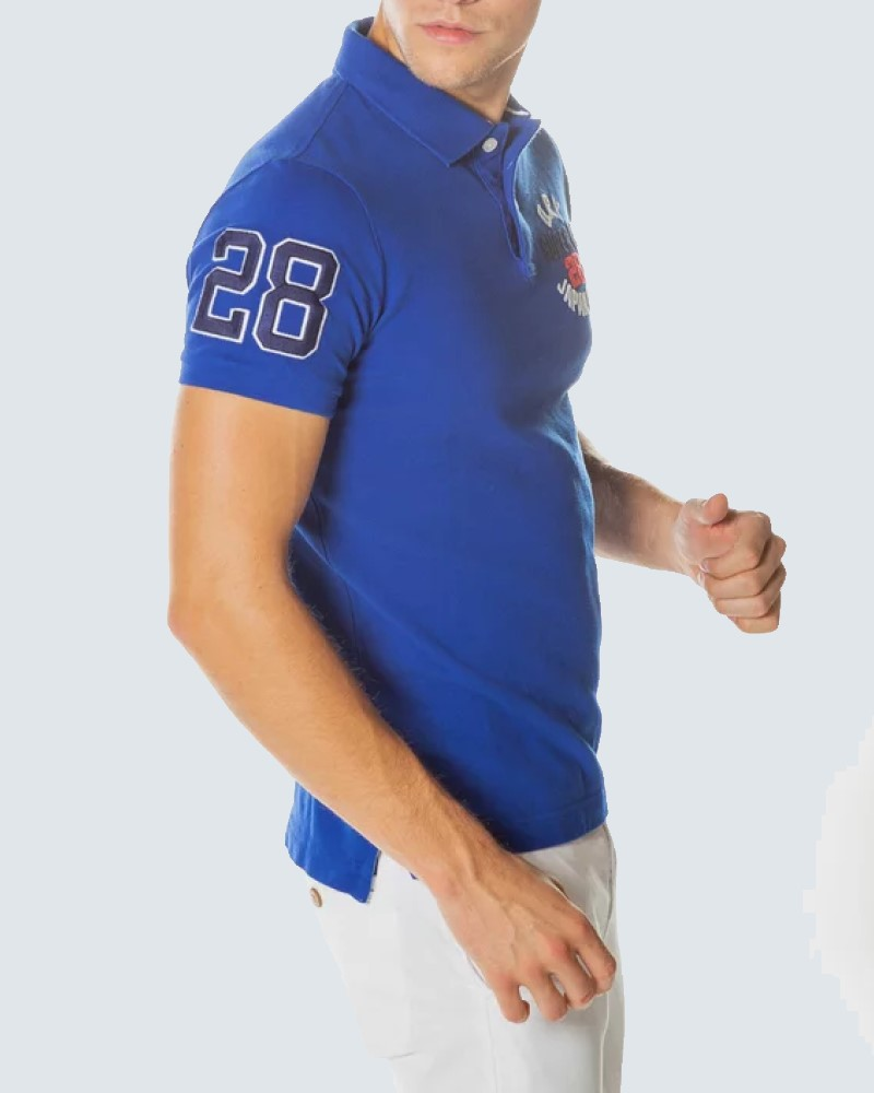 POLO SUPERDRY CLASSIC SUPERSTATE- ROYAL